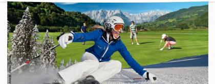 OPEN GOLF St. Johann Alpendorf Ski Golf